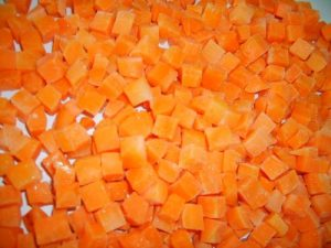 IQF DICED CARROT