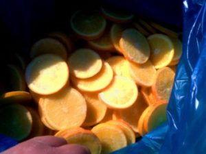 IQF ORANGE SLICES INDUSTRIAL