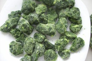 IQF SPINACH CHOPPED WHOLESALE
