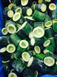 frozen zucchini tubes