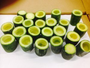 zucchini iqf tubes for filling