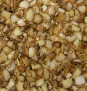 cubos asados cebolla iqf granel