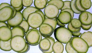 iqf slices zucchini