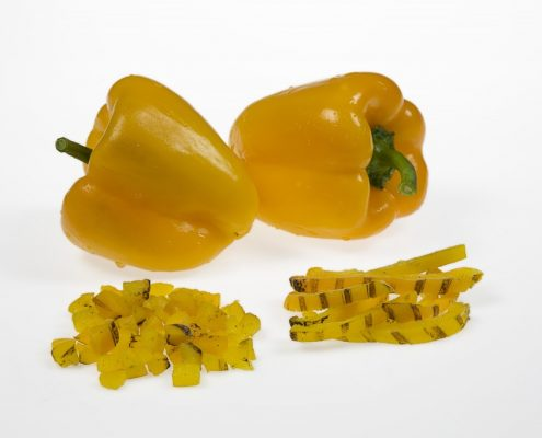 IQF GRILLED YELLOW PEPPER