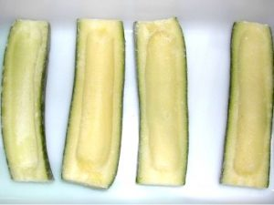 calabacin canoa ultracongelado