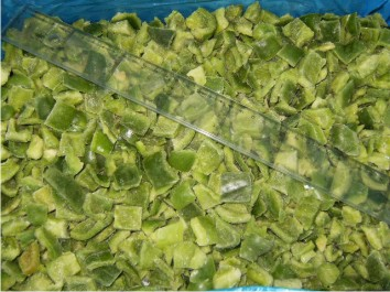 IQF GREEN PEPPER DICED 20X20