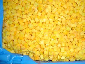 peach diced 10x10 1x10kg