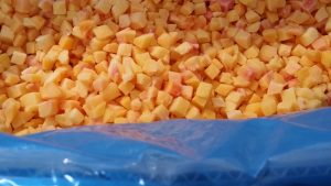 10x10 diced peach