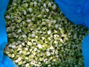 frozen celery diced